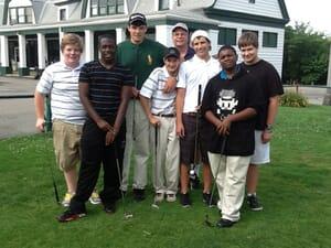 Golfers at The Bob O'Connor Course