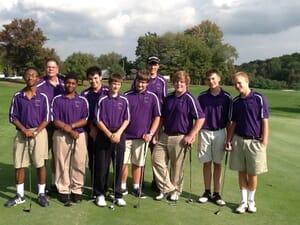 Older photo: Obama Golf Squad when coach by Mark Rauterkus