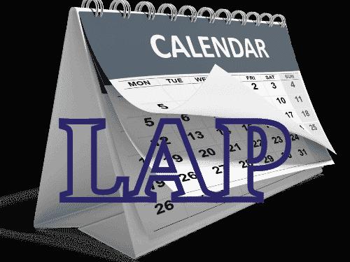 Calendar for future of LAP