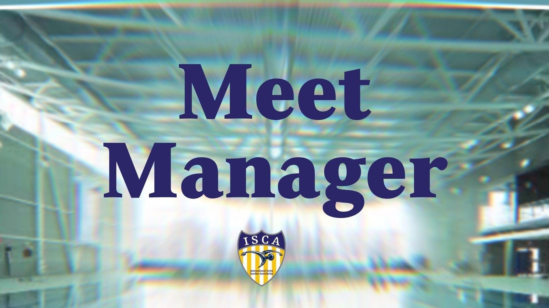 Meet Manager