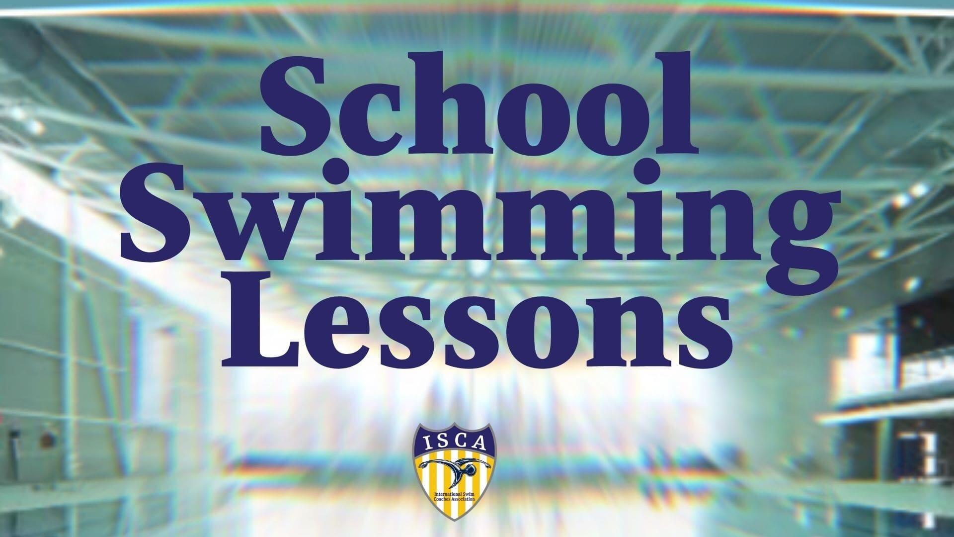 School Swimming Lessons