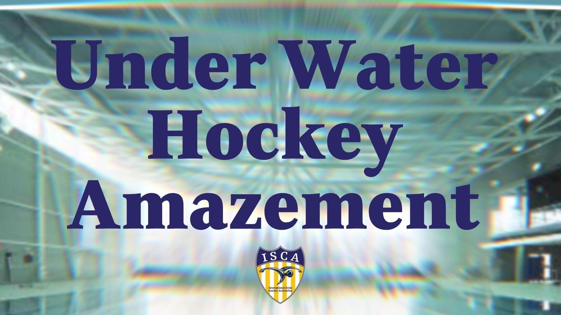 Under Water Hockey Amazement