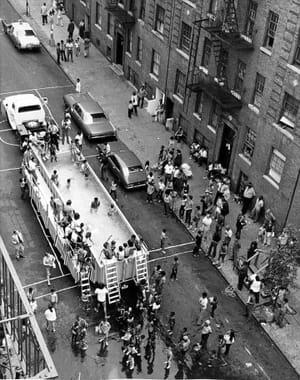 NYC 1970s mobile pool