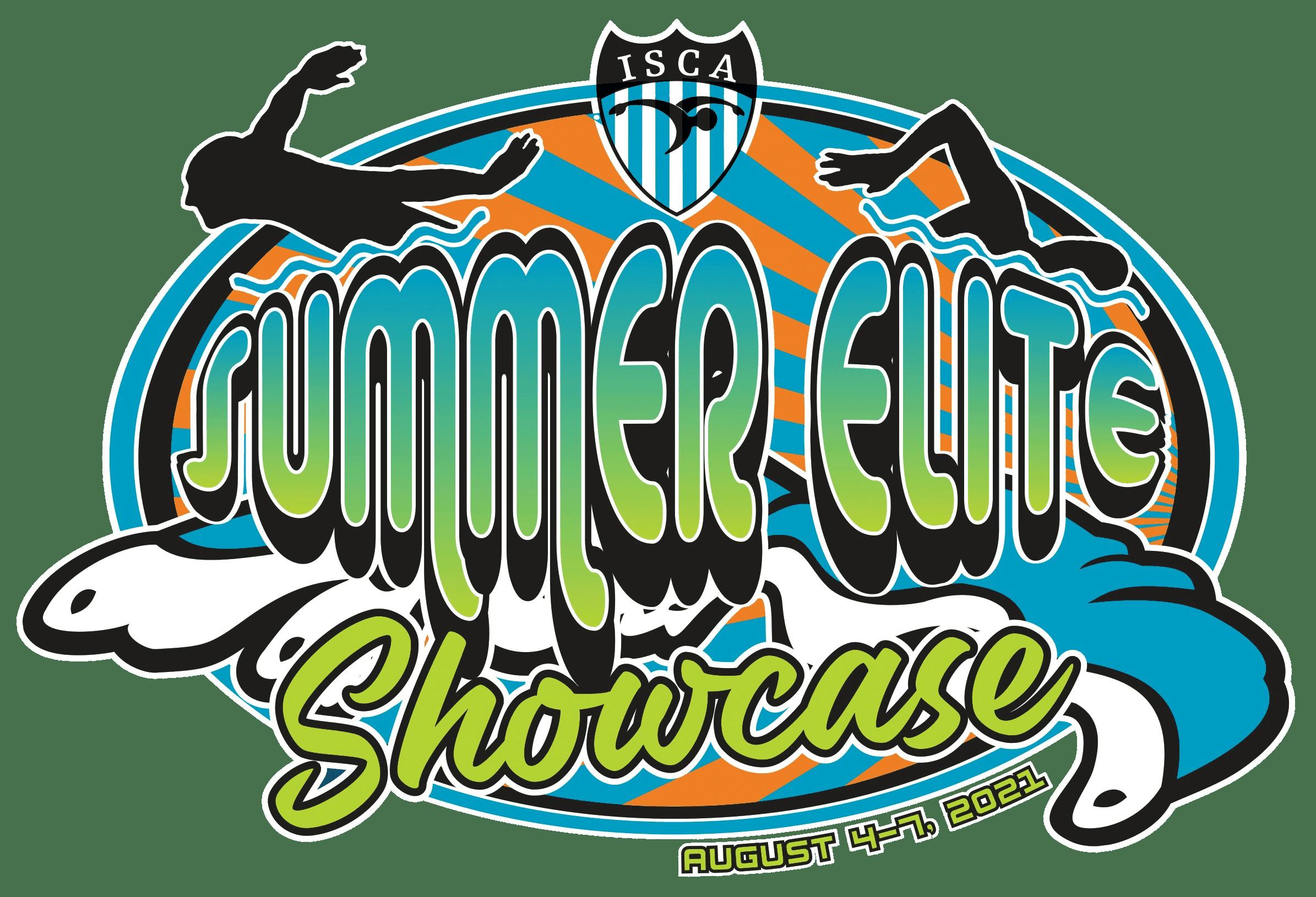 ISCA Summer Elite Showcase 2021 meet logo