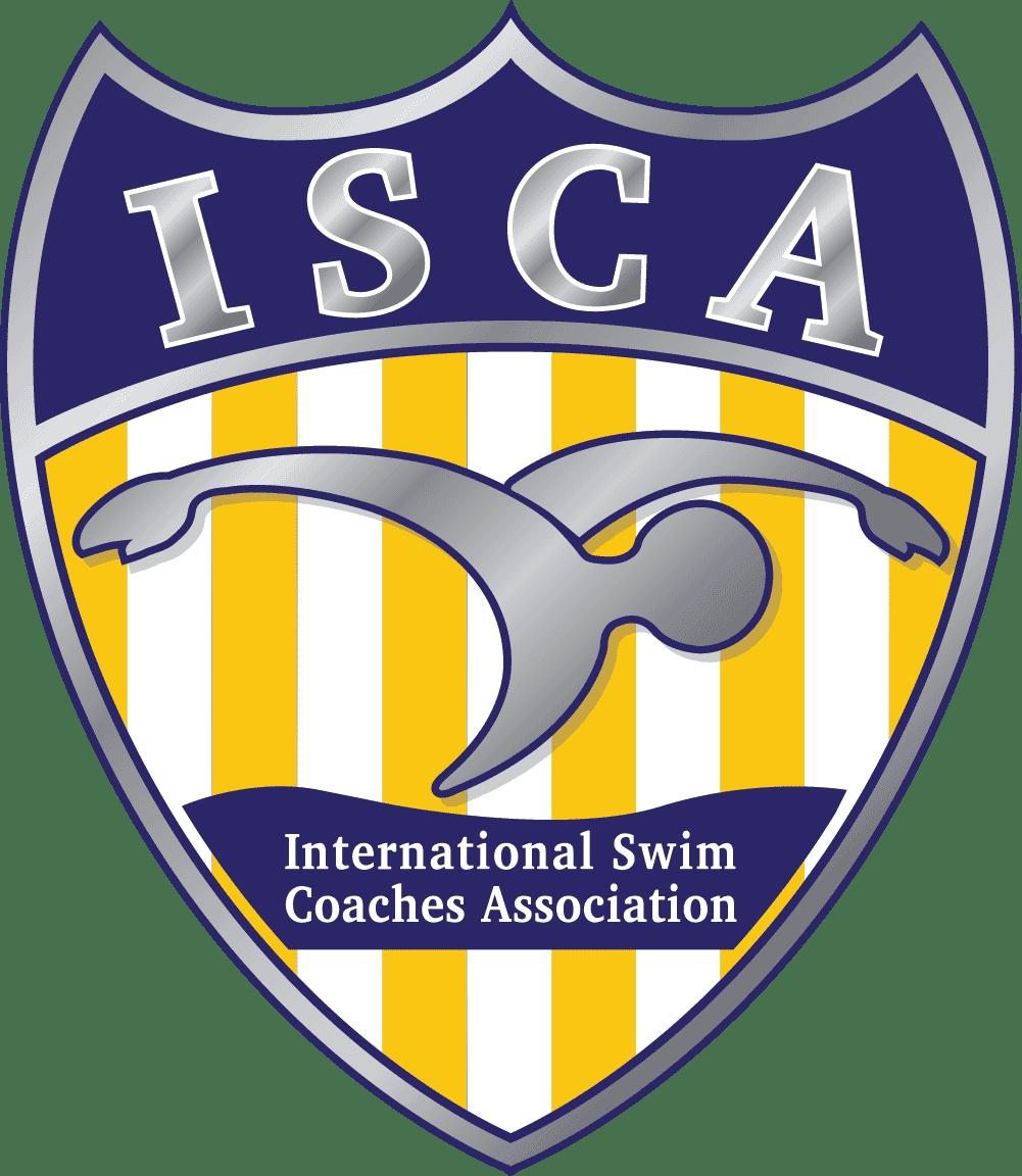 swim isca logo - silver shield