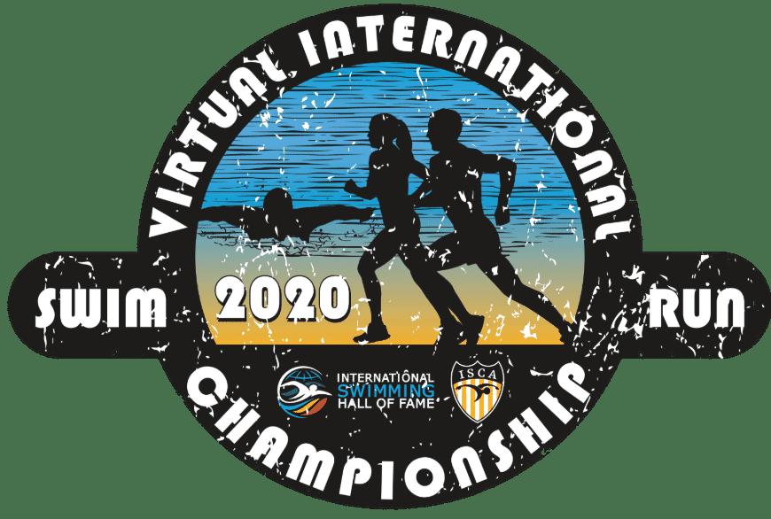 Virtual International Championships Swim Run 2020 (logo)