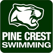 Pine Crest Swimming logo