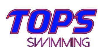 TOPS swimming logo