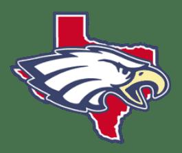 Eagle Swimming, Gulf / Texas, logo