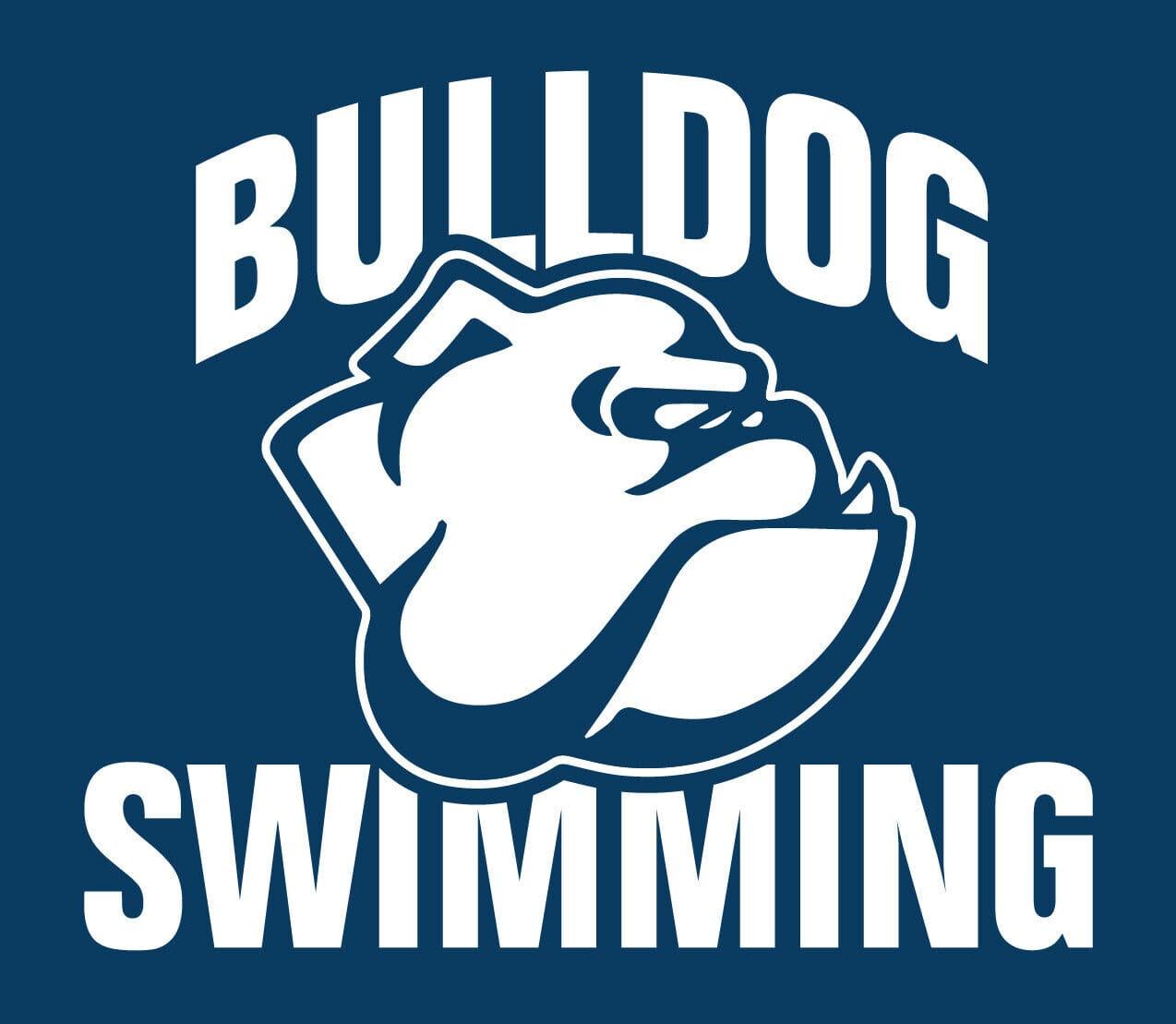 Bulldog Swimming logo