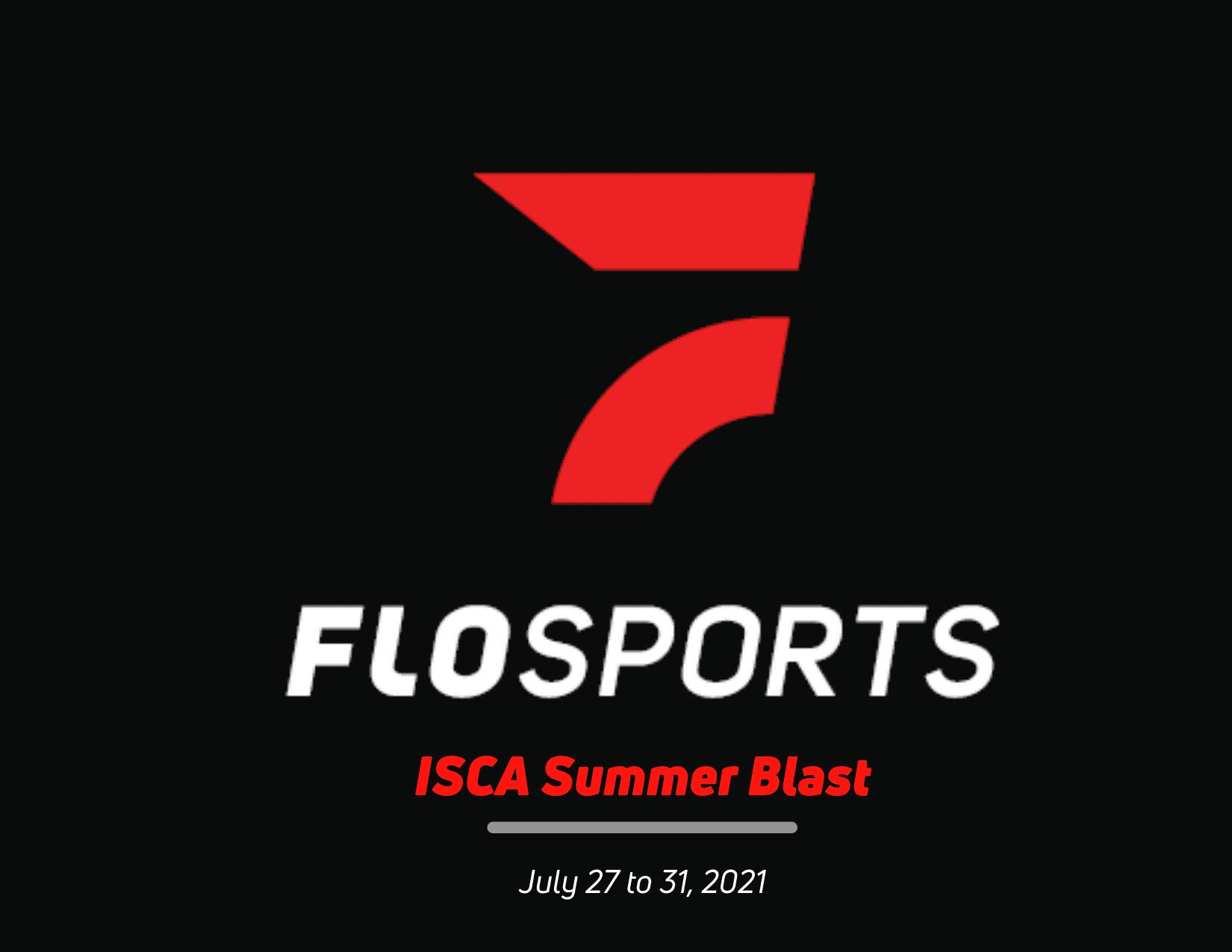 FLO SWIMMING watch the ISCA Summer Blast