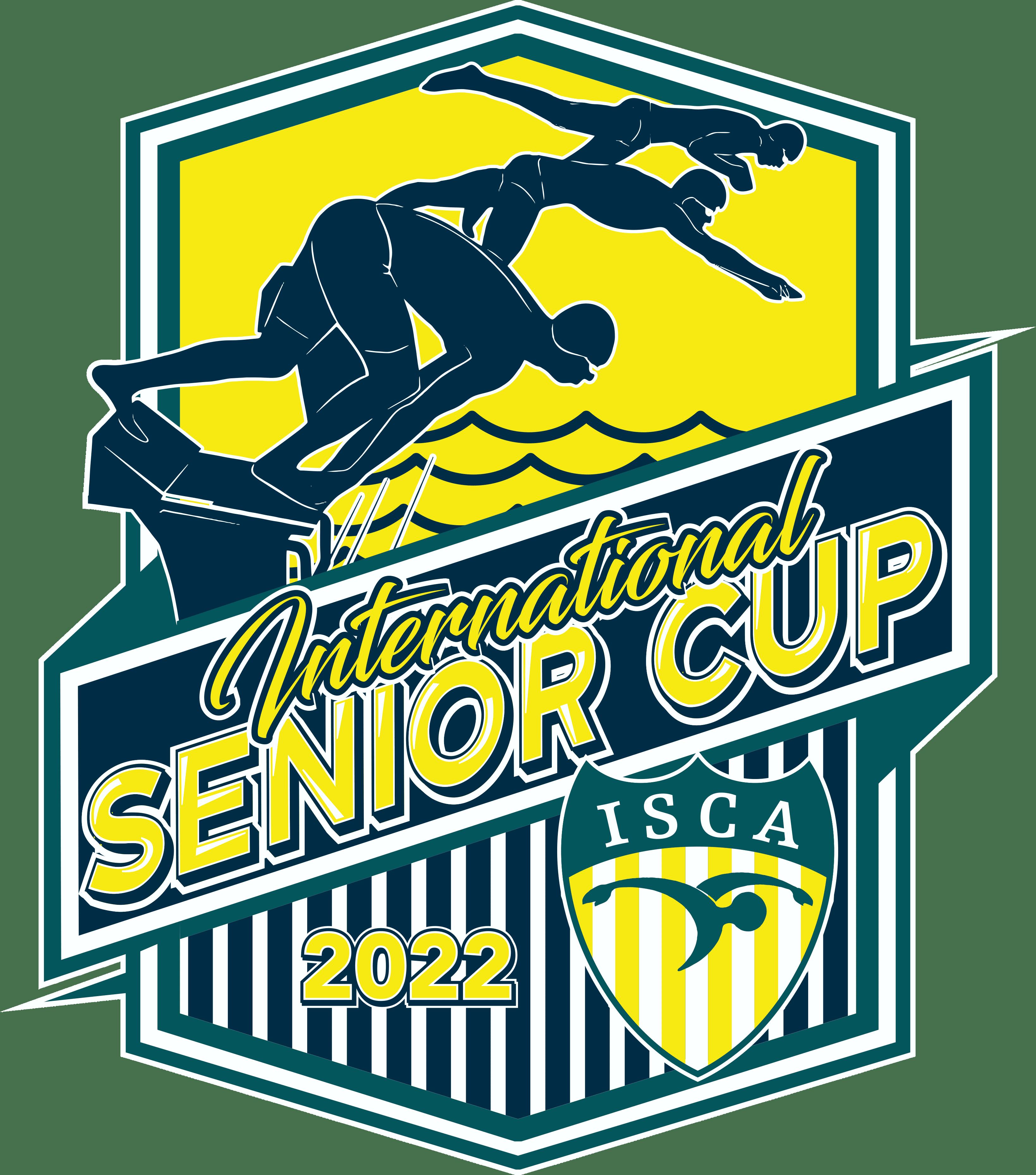 ISCA Senior Cup 2022 short course logo